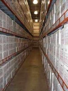 secure offsite document storage facility climate-controlled space office space
